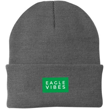 Eagle Vibes Embroidered Knit Cap