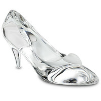 Disney Personalizable Large Cinderella Glass Slipper by Arribas | Disney Store
