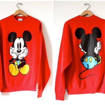 Vintage Walt Disney Mickey Mouse Sweatshirt