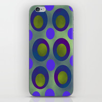 Shining Abstract iPhone Skin by kasseggs