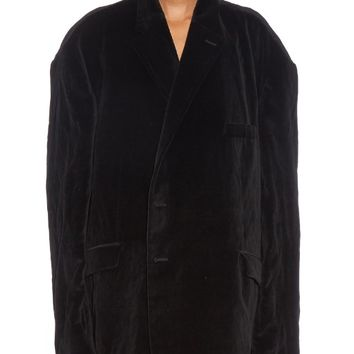 Oversized velvet blazer | Vetements | MATCHESFASHION.COM US