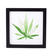 Framed Hemp Print