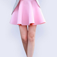Perfect Pink Flare Skirt