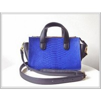 Circle & Square | Electric Blue Python Mercer