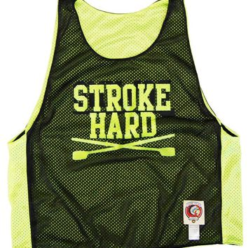Rowing Stroke Hard Lacrosse Pinnie