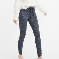 Womens Cozy Cinched Leggings | Womens Bottoms | Abercrombie.com