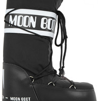 Moon Boot - Piqué-shell and leather ski boots