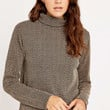 Urban Outfitters Retro Pattern Turtleneck Jumper - Urban Outfitters