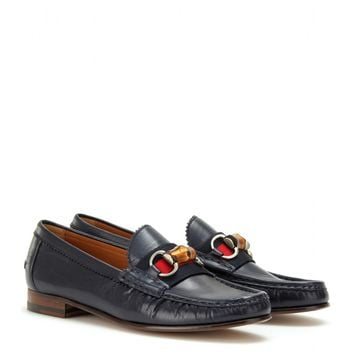 gucci - clyde loafers