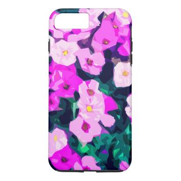 Decorative Flower Pattern iPhone 8 Plus/7 Plus Case