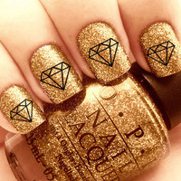 Diamond Nail Decals 36 Ct.