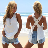 Sweet Pea Blouse In White