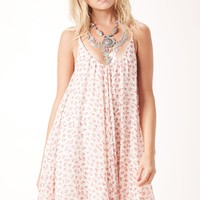 PRINTED BABY DOLL DRESS
