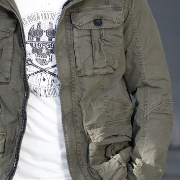 Rogue State Canvas Field Jacket