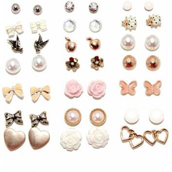 Flowers and Bows Assorted Stud Fashion from Walmart 70a8742979