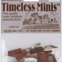 timeless miniatures-hand tools 6/pkg