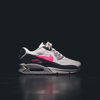 NIKE Air Max 90 Essential - White / Black / Wolf Grey / Hyper Pink - Email Orders