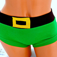 Link inspired geek Panties Lingerie your size The Legend of Zelda w Triforce cosplay