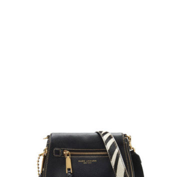 Recruit Small Saddle Bag with Zebra Strap - Marc Jacobs