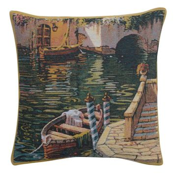 Varenna Reflections Boat II European Cushion