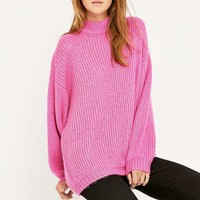 UNIF Echo Funnel Neck Sweater - Urban Outfitters