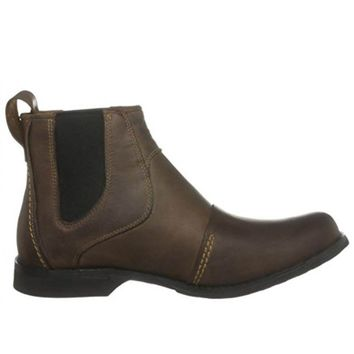 Timberland Earthkeeper - Brown Leather Chelsea Boot