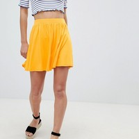 ASOS DESIGN mini skater skirt at asos.com