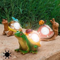 Decorative Solar Figure for Gardens