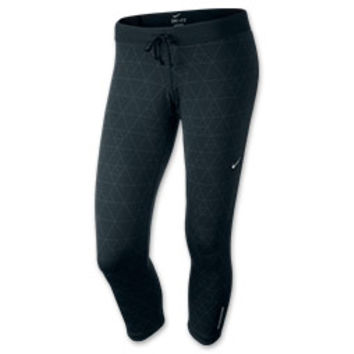 Women's Nike Relay Print Crop Running Tights