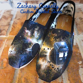Dr. Who Custom Toms Shoes