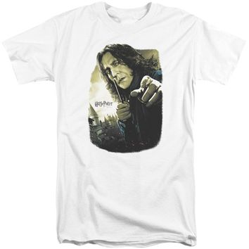 Harry Potter - Snape Poster Short Sleeve Adult Tall Shirt Officially Licensed T-Shirt