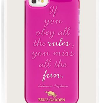 If You Obey All The Rules iPhone 5/ 5s Case