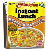 Maruchan Instant Lunch, Roast Chicken, 2.25-Ounce Packages (Pack of 12)