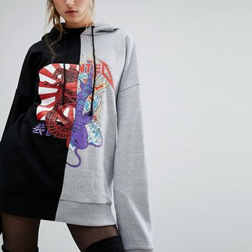Jaded London X Granted Tour Hoodie at asos.com