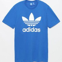 adidas Trefoil Blue T-Shirt at PacSun.com