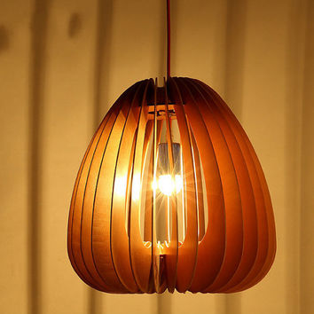 Free Shipping Modern Lighting Fixture Wooden Chandeliers Pendant Lamp Dining Room Cafe Restaurant Decoration