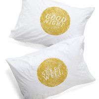 Goodnight, Room Pillowcase Set