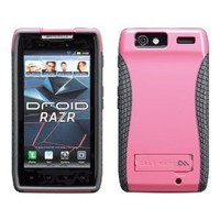 Case-Mate CM018197 POP Case with Stand for Motorola Droid RAZR XT912 1 pack-Case-Retail Packaging-Pink/Cool Grey