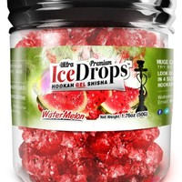 Watermelon 50G Ultra Premium Beamer Ice Drops ¨ Hookah Shisha Smoking Gel. Each bowl lasts 2-4 Hours! USA Made, Huge Clouds, Amazing Taste! Better Taste & Clouds than Tobacco! 2-3 bowls per Jar!