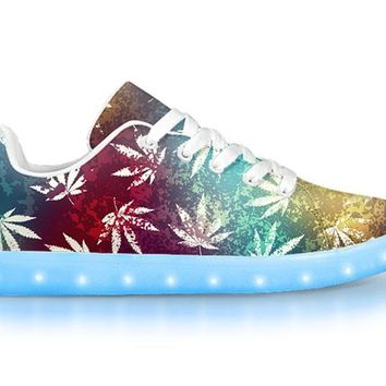 Hawaiian Haze - APP Controlled Low Top LED Shoes