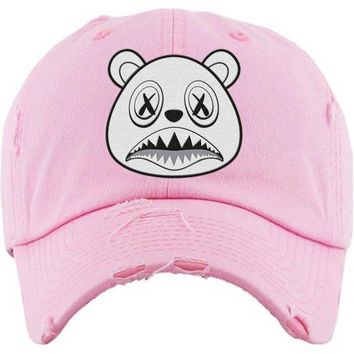 Ghost Baws Light Pink Dad Hat