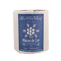 West Third Brand Maison de Cire Pillar Candle | West Third Brand Candles | Rain Collection