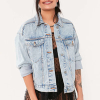 BDG Relaxed Denim Trucker Jacket - Urban Outfitters