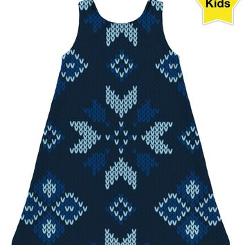 ROCD Christmas Sweater Children's Dress
