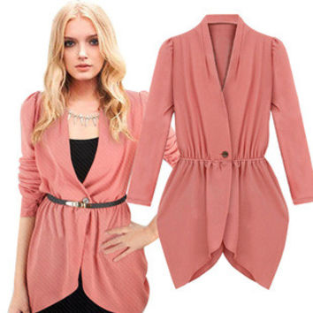 [2 COLORS] Fashion Women's Blazers OL Slim Suits