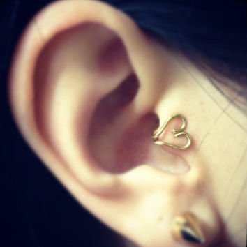 Dainty Ear Tragus Cuffs by LittleDistractions on Etsy