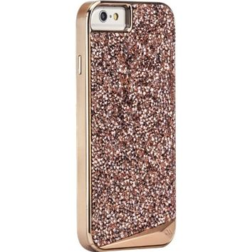 Case-Mate Brilliance Cell Phone Carrying Case for iPhone 6 Plus - Retail Packaging - Rose Gold