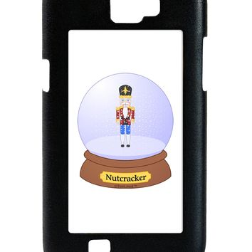 Nutcracker Snow Globe - Red Gold Black Galaxy Note 2 Case  by TooLoud