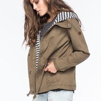 ROXY Wood Ridge Womens Twill Jacket | Outdoor Wanderlust