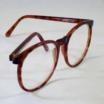 Vintage Fashion Eyeglasses Frames 1980s ATTITUDE by Pan Oceanic